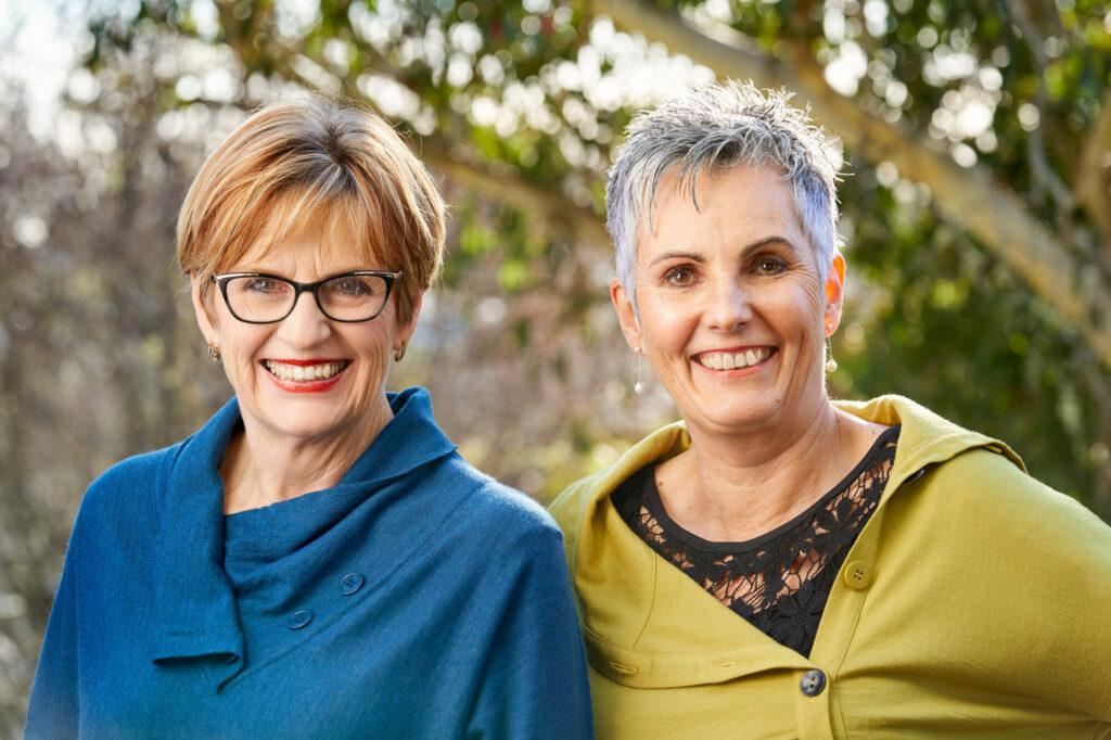 Workplace Wellness Directors Leonie Wallork and Robin Wilson