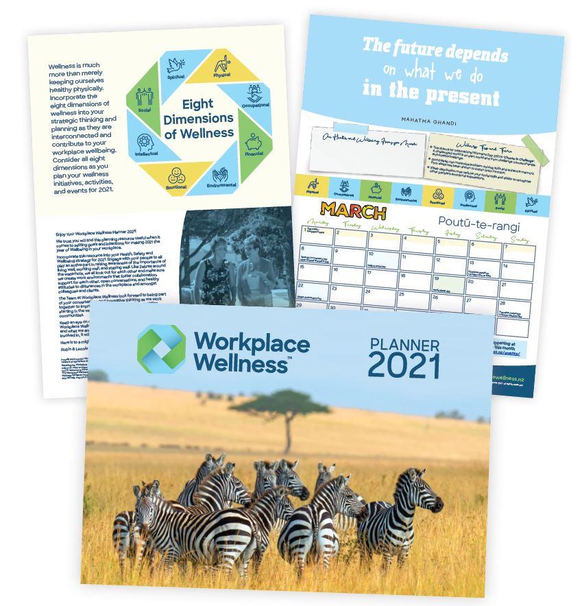 Workplace Wellness Planner 2021